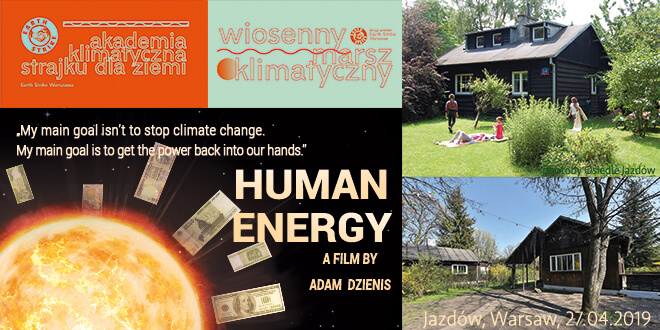 Screening at Climate Academy in Warsaw